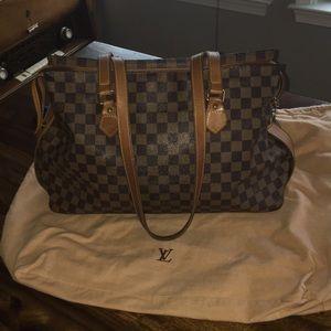 LOUIS Vuitton Centenaire Damier Chelsea Bag